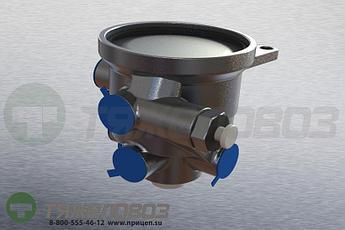 Воздухораспределитель (тормозной кран прицепа) 11-3531010-71
