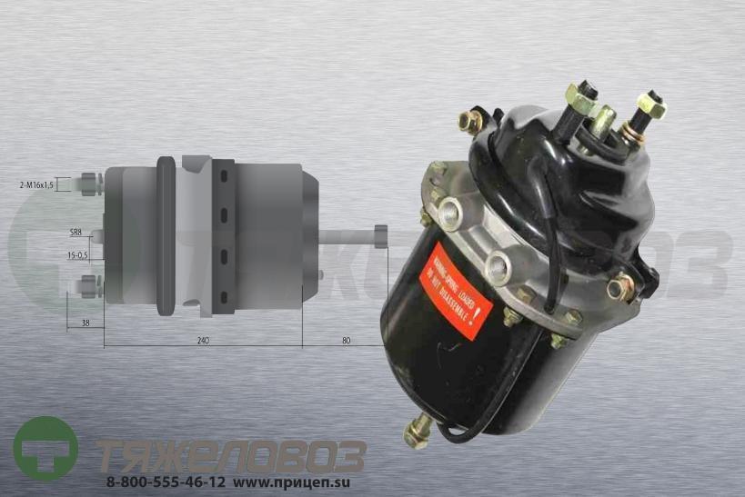 Энергоаккумулятор тип 16\24 BPW (дисковый тормоз) 02.0327.88.00