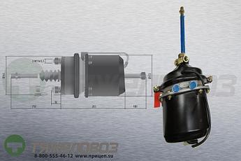 Энергоаккумулятор тип 24\24 Scania (барабанный тормоз) M2872424