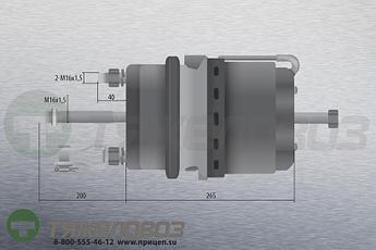 Энергоаккумулятор тип 24/30 VOLVO (барабанный тормоз) 20533204