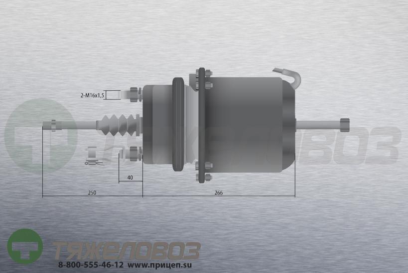 Энергоаккумулятор тип 24\30 MAN (барабанный тормоз) 81.50410.9197