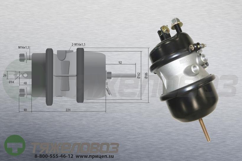 Энергоаккумулятор тип 24\24 ROR (дисковый тормоз) 41225763