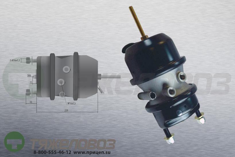 Энергоаккумулятор тип 16\24 BPW (дисковый тормоз)  05.444.40.02.0