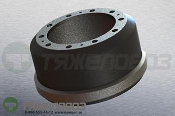 Барабан тормозной ТОНАР, SAF 1064023601 (M1900150)