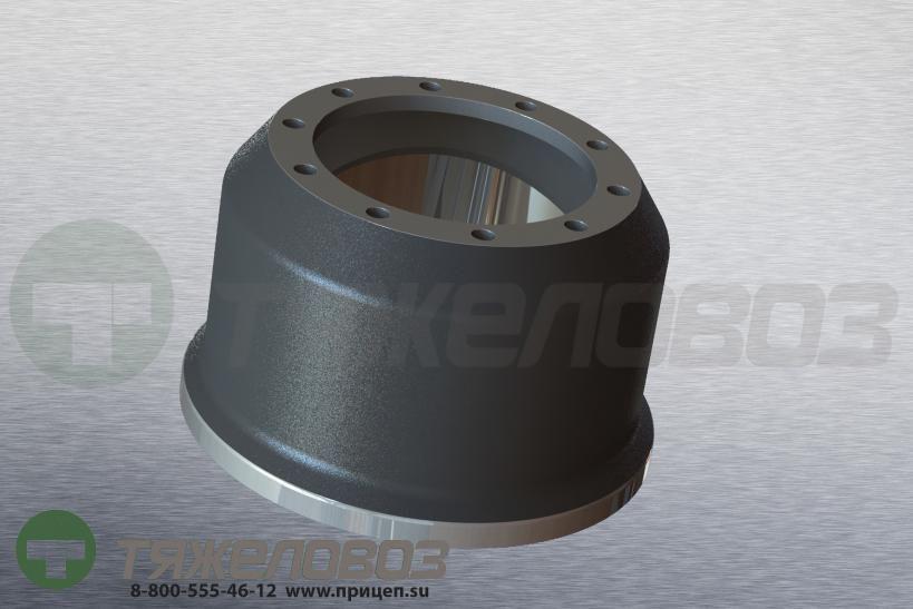 Барабан тормозной BPW 10-16 tons 0310677720 (M1900163)