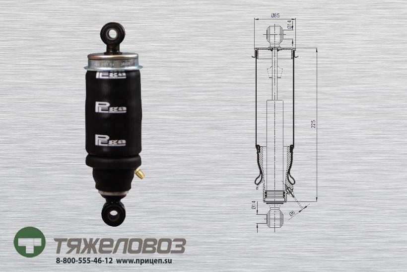 Амортизатор кабины МАN 81417226049 (P20.3101.RA)