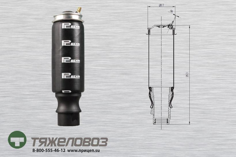 Амортизатор кабины VOLVO 3172984 (P20.6101.F)