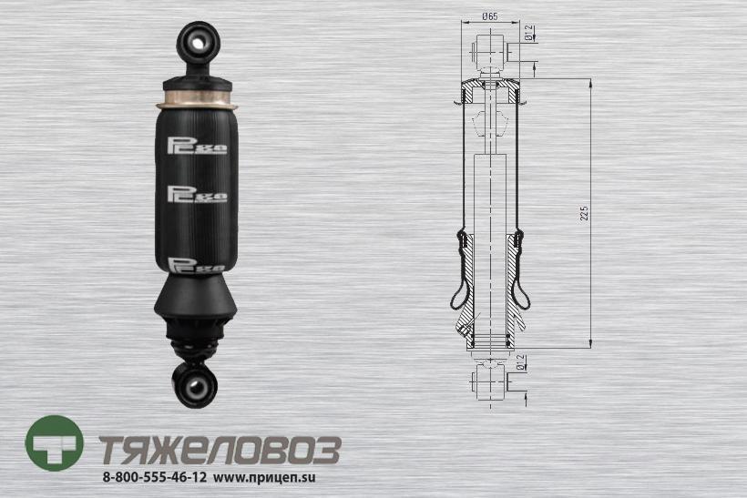 Амортизатор кабины RVI 5010269674  (P20.5301.RA)