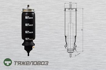 Амортизатор кабины Scania 1381904 (P20.1201.FA)