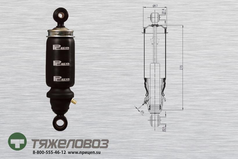 Амортизатор кабины Mercedes 9438903819 (P20.2102.FA)