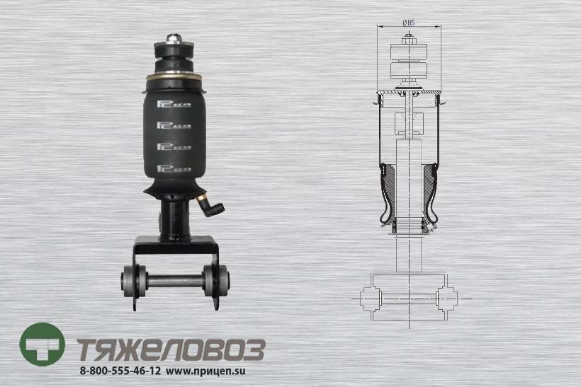 Амортизатор кабины RENAULT 5010552241 (P20.5204.RA)