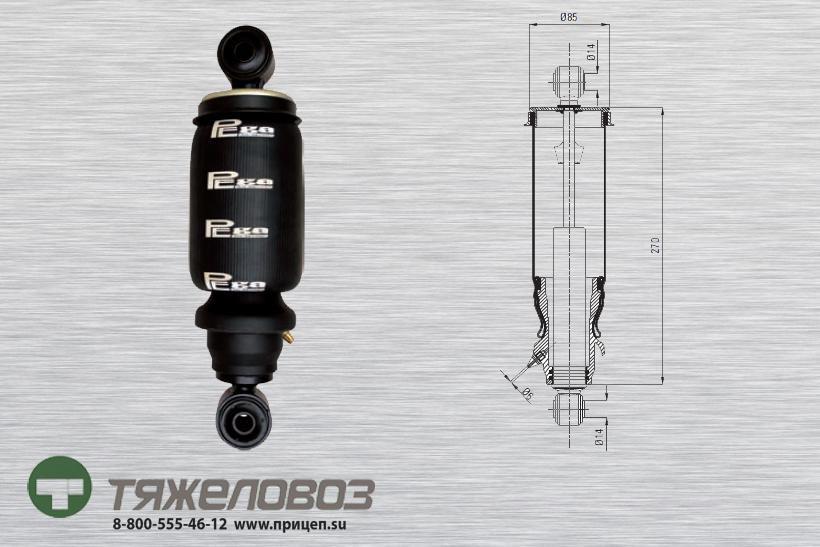 Амортизатор кабины Mercedes 9428906119 (P20.2301.RA)