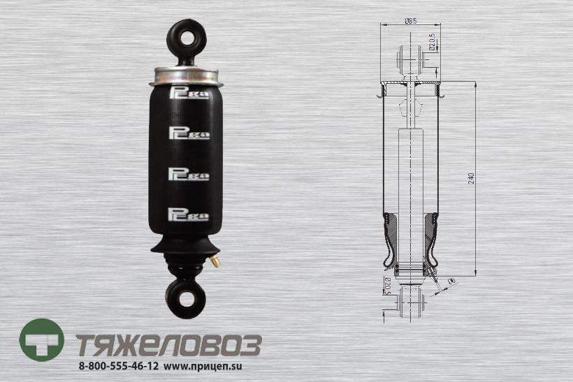 Амортизатор кабины IVECO 500357352 (P20.4101.RA)