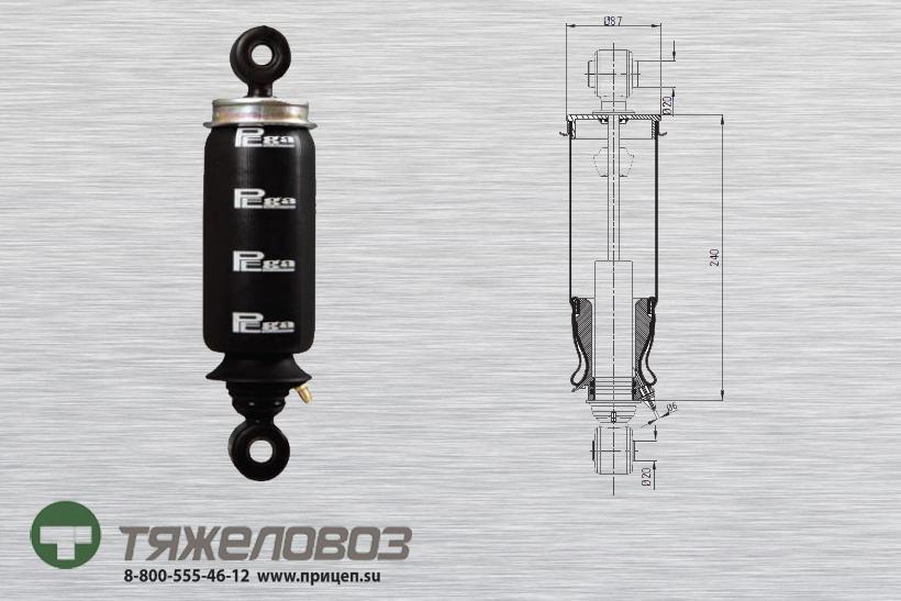Амортизатор кабины IVECO 500340706 (P20.4103.RA)