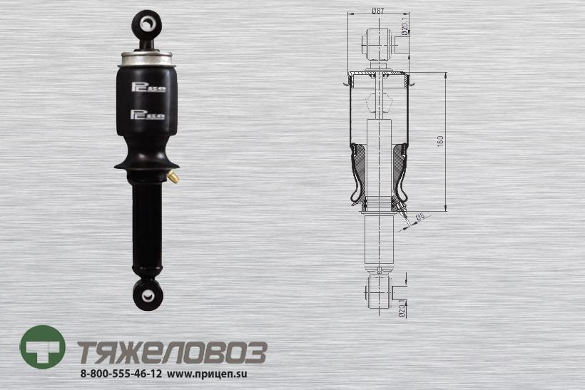 Амортизатор кабины IVECO 504060233 (P20.4104.RA)