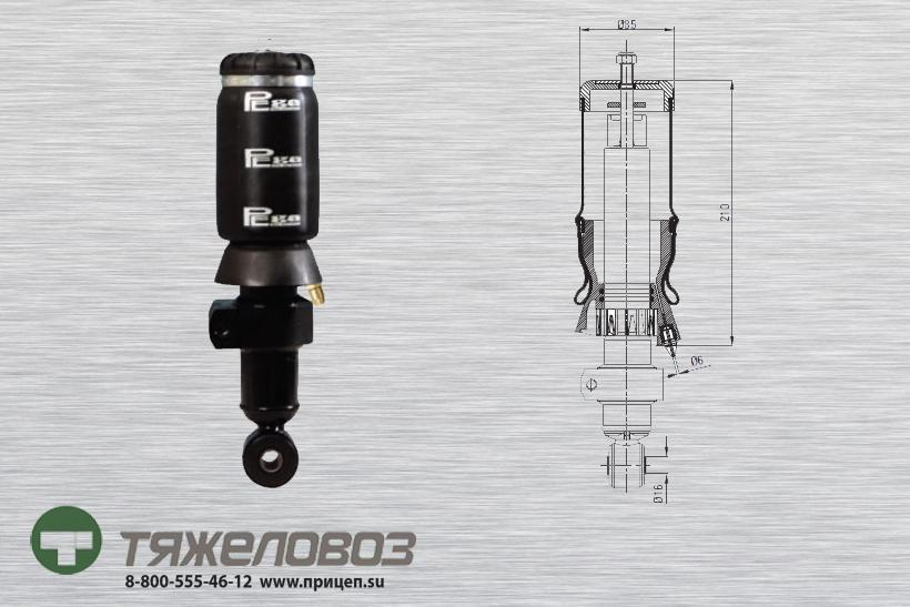 Амортизатор кабины IVECO 500379698 (P20.4202.RA)