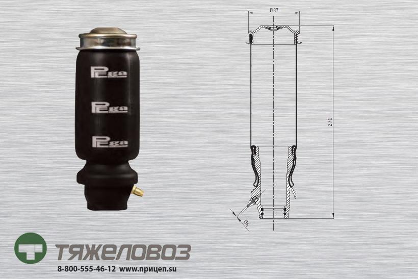 Амортизатор кабины Mercedes 10677 (P20.2102.B)