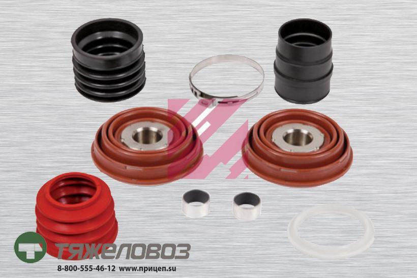 Ремкомплект направляющей и пыльников 69 мм (9 деталей) KNORR SN6… SN7… SK7… (M2910016)