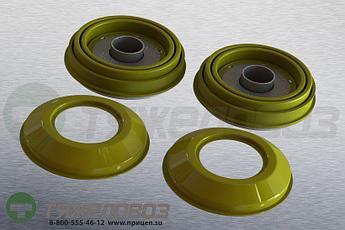 Пятаки и пыльники суппорта 69 мм 09.801.06.32.0 (К001300)