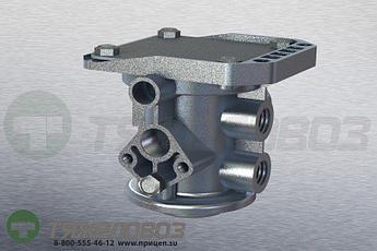 Воздухораспределитель (тормозной кран прицепа) WABCO 9710023007