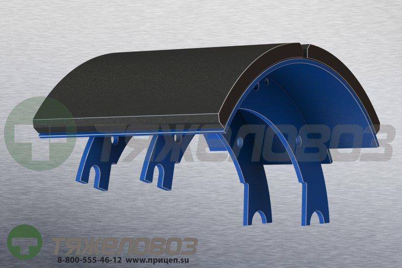 Колодка тормоза с накладками 420х200 9693-3501090