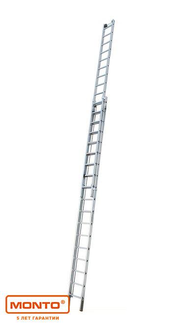 Двухсекционная лестница с перекладинами, выдвигаемая тросом Robilo®