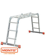 Универсальная шарнирная лестница с перекладинами MultiMatic®, фото 1