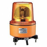 Красная вращающая лампа маячок, 120 В пер. ток, IP66,IP67, Монтажный диаметр 130мм