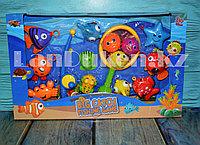 Игровой набор рыбалка с крючками и петлям