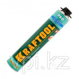 """Пена """"PREMIUM PRO LOW"""" профессиональная, монтажная, всесезонная 750мл.  Kraftool 41181"""