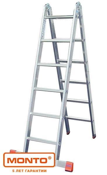 Двухсекционная шарнирная лестница с перекладинами TriMatic®