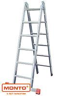 Двухсекционная шарнирная лестница с перекладинами TriMatic®, фото 1