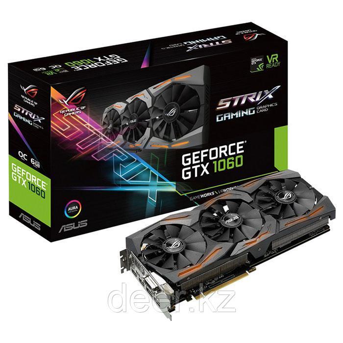 Видеокарта DDR5X ASUS STRIX-GTX1080-A8G-GAMING