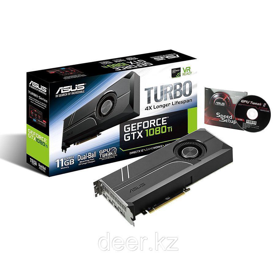 Видеокарта ASUS TURBO-GTX1080TI-11G