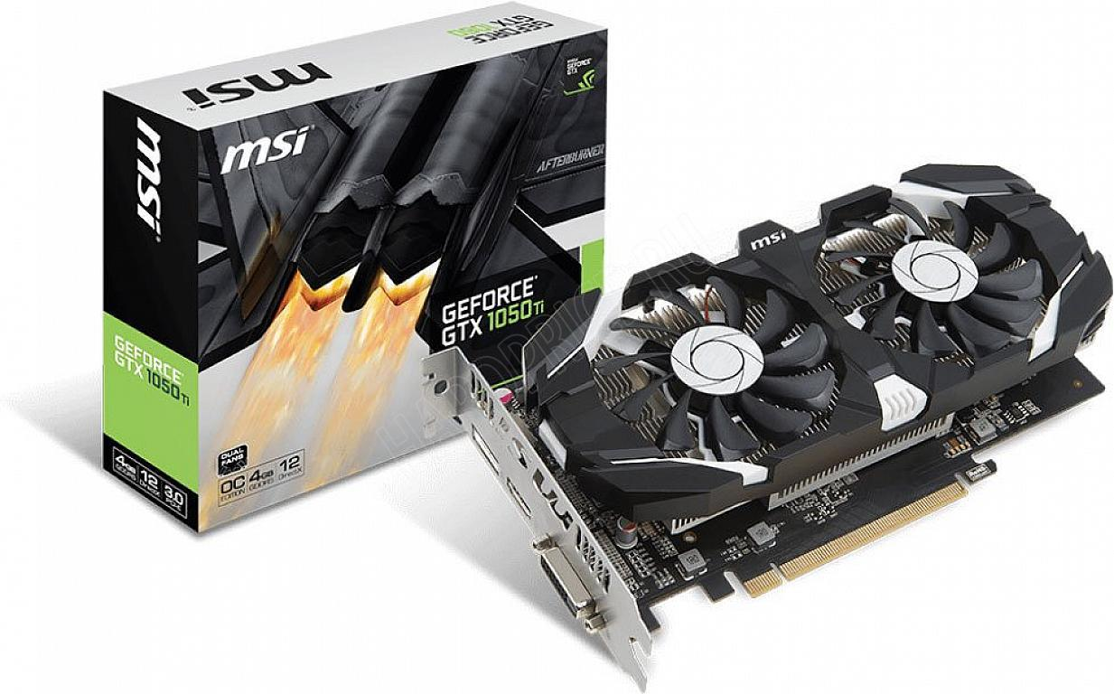 Видеокарта NVidia GeForce GTX 1050TI 4096Mb