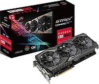 Видеокарта 8Gb  PCI-E  DDR5 ASUS ROG-STRIX-RX580-O8G-GAMING
