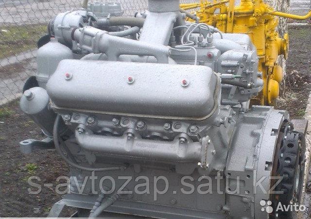 Двигатель без коробки передач со сцеплением 6 комплектации (ПАО Автодизель) для двигателя ЯМЗ 236Г-1000152