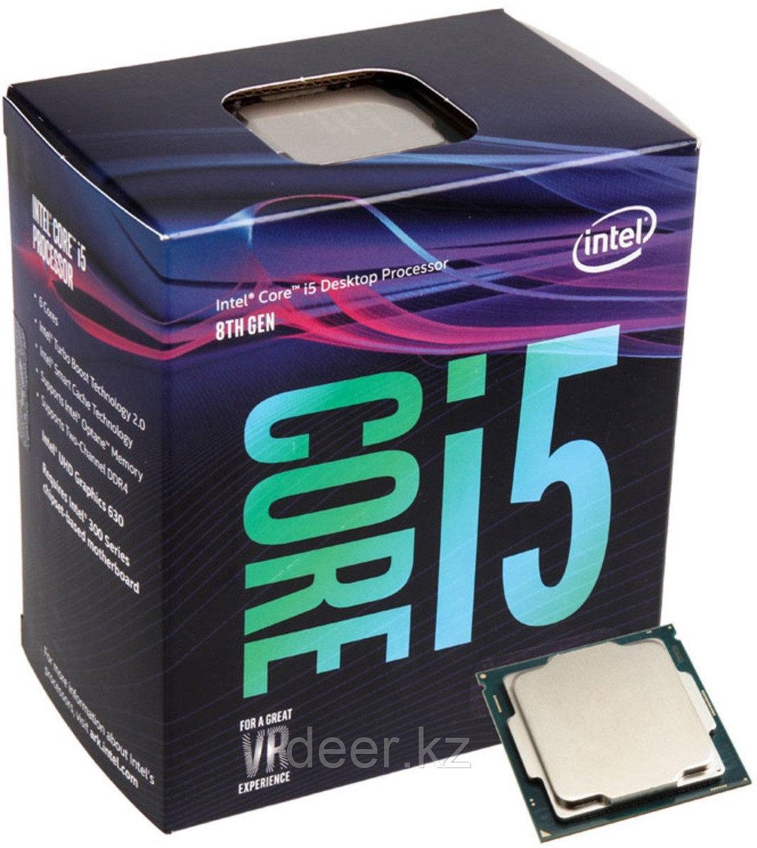 Процессор BX80684I58400 SR3QT Intel CPU Desktop Core i5-8400 (2.8GHz, 9MB, LGA1151) box
