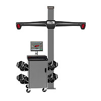 WA510E/HE421FC3E,Стенд сход-развал 3D, 4-x камерный, неподвижная стойка, QuickGrip адаптеры, RAL7040