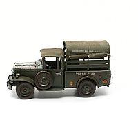 Модель военного фургона 33*14*18 см.