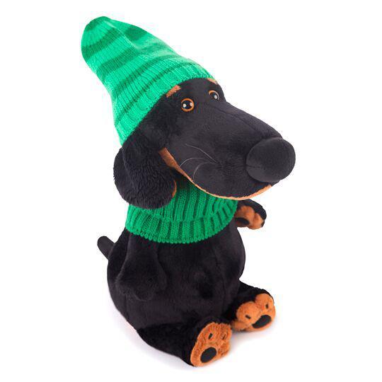 """Мягкая игрушка """"Ваксон в зеленой шапке и шарфе"""", 25 см"""