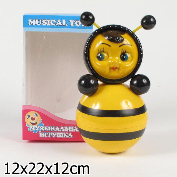 """Игрушка Неваляшка """"Пчёлка"""", 21 см."""