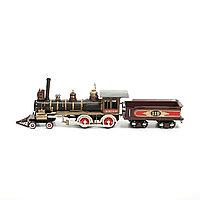 Модель поезда. 54X10X16 см.