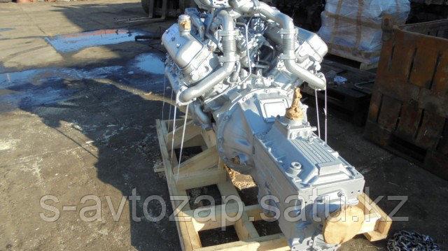 Двигатель с коробкой передач и сцеплением 5 комплектации (ПАО Автодизель) для двигателя ЯМЗ 236НЕ-1000021