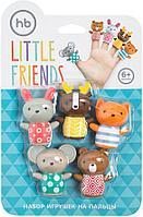 """Happy Baby Набор игрушек на пальцы """"Маленькие друзья"""""""