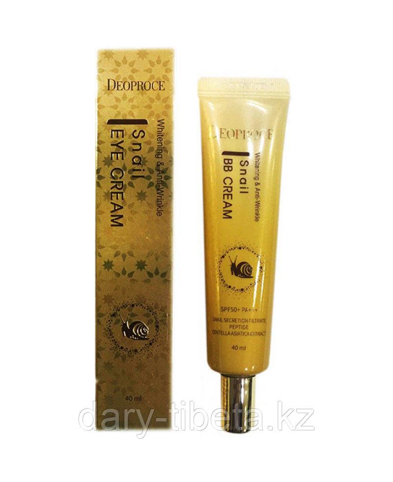 Deoprose Snail Eye Cream-Крем для кожи вокруг глаз с экстрактом улитки