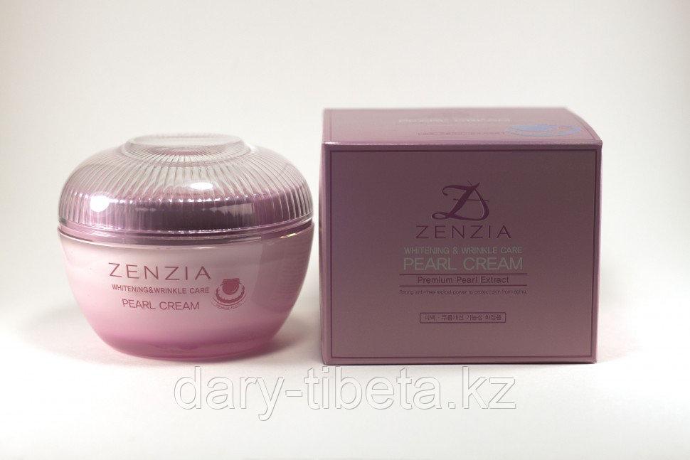 Zenzia Pearl Cream-Крем для лица с жемчужной пудрой
