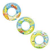 """Детский надувной круг для плавания """"Дизайнер"""" 56 см , Bestway 36013"""