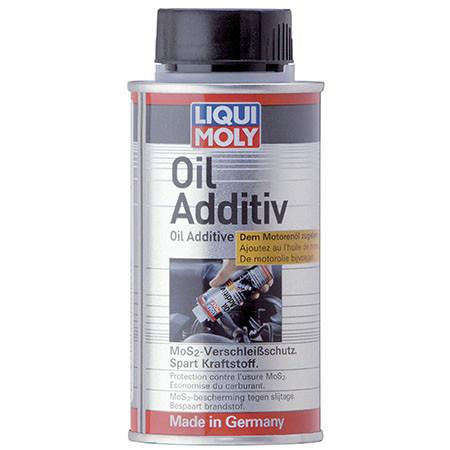 Антифрикционная присадка с дисульфидом молибдена в моторное масло Oil Additiv 125ml