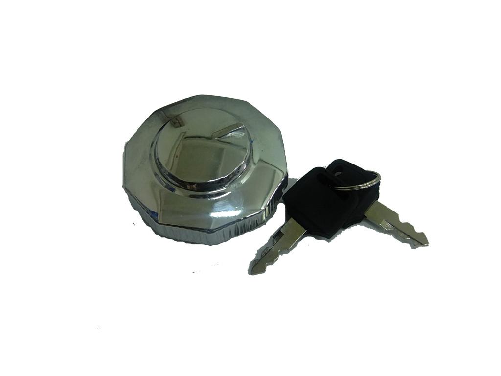 Крышка бензобака с ключом (хром)